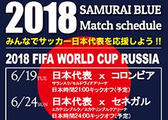サッカー日本代表を応援しよう!